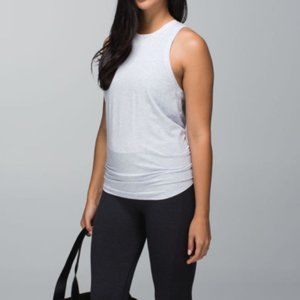 Lululemon All Tied Up Tank H.Cool Breeze Small
